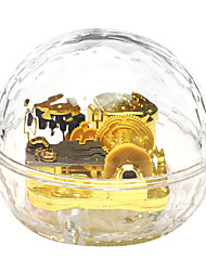 cheap -QIAOJIANG HOUSE Music Box Unique Crystal Glass Women's Girls' Kid's Adults Graduation Gifts Toy Gift