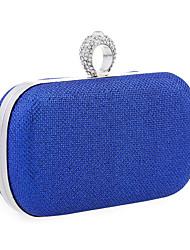 abordables -Femme Volants Paillettes Pochette / Protection Métallique Argent / Rouge / Bleu Roi