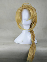 cheap -Cosplay Costume Wig Synthetic Wig Kinky Curly Kinky Curly Wig Blonde Blonde Synthetic Hair Blonde