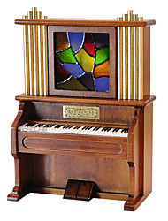 cheap -QIAOJIANG HOUSE Music Box Vintage Boys' Girls' Toy Gift