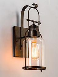cheap -Rustic / Lodge Wall Lamps & Sconces Metal Wall Light 220V / 110V 60W
