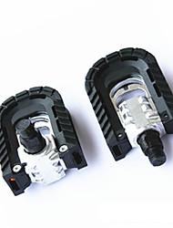 Недорогие -Горный велосипед педали Прочный Простота установки пластик Алюминиевый сплав для Велоспорт Шоссейный велосипед Горный велосипед Велосипедный мотокросс Черный