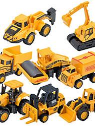 cheap -children s toy car truck 1 48 back of alloy car model toy excavators 1 55 dump truck 9pcs