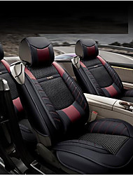 cheap -OUYA Car Seat Cushions Seat Covers Coffee Textile / Carbon Fiber Business For universal