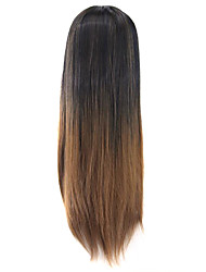 cheap -Cosplay Costume Wig Synthetic Wig Cosplay Wig Wig Ombre Medium Auburn Synthetic Hair Women's Ombre