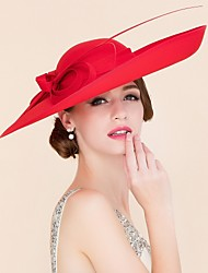 cheap -Fabric Kentucky Derby Hat / Hats with 1 Wedding / Special Occasion / Casual Headpiece