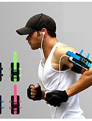 abordables -Brassard Sac de téléphone portable Running Pack pour Course / Running Cyclisme / Vélo Fitness Sac de Sport Compact Térylène Nylon Tactel Sac de Course / iPhone X / iPhone XS Max / iPhone XS