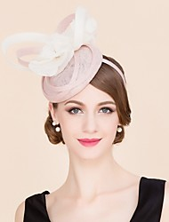 cheap -Flax / Silk Kentucky Derby Hat / Hats with 1 Wedding / Special Occasion / Casual Headpiece