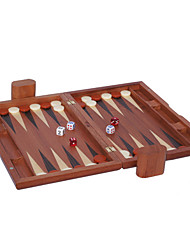 "cheap -Royal St Selling 15 ""Wooden BaccaratChess Backgammon Games Acrylic Dice The Surface + Plastic Chess Board (28 * 10 Mm)"
