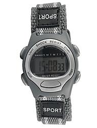 Недорогие -Спортивные часы Кварцевый Серый Повседневные часы Cool Аналоговый Мода - Серый Один год Срок службы батареи / Tianqiu 377