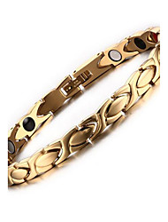 cheap -Women's Chain Bracelet Stainless Steel Bracelet Jewelry Gold For Daily Casual