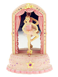 cheap -ABS Pink Creative Romantic Music Box for Gift