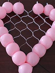 Недорогие -форма сердца воздушный шар сетка поделки партия украшения свадьба день рождения (не содержит воздушный шар)