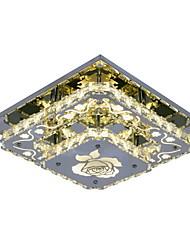 Недорогие -Ecolight™ 30cm(11.8inch) Хрусталь / LED Подвесные лампы Металл Хром Современный современный 90-240 Вольт