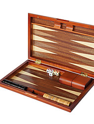 "cheap -Chess Backgammon 11 ""Wooden Star Baccarat Solid Wood Dice Cup Acrylic Dice"