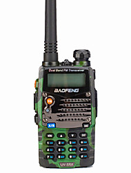 cheap -BAOFENG UV-5RA Walkie Talkie Intercom Handheld / Digital Voice Prompt / Dual Display 1.5KM-3KM 1.5KM-3KM 128 1800 mAh 5W Two Way Radio / 136-174MHz / 400-520MHz /Dual-Band Transceiver
