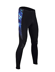 cheap -TASDAN Men's Cycling Tights Bike Tights Pants Bottoms Breathable 3D Pad Quick Dry Sports Solid Color Winter Black Road Bike Cycling Clothing Apparel Relaxed Fit Bike Wear / High Elasticity
