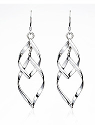 cheap -Women's Drop Earrings Fashion Earrings Jewelry Silver / Golden For Party Daily Casual Work