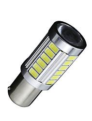 Недорогие -SO.K 2pcs BA15S (1156) Автомобиль Лампы 7 W SMD 5630 700 lm 33 Фары дневного света For Универсальный Все модели Все года