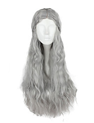 cheap -Game of Thrones Super Heroes Queen Daenerys Targaryen Cosplay Wigs Women's 75CM Synthetic Fiber Anime Wig