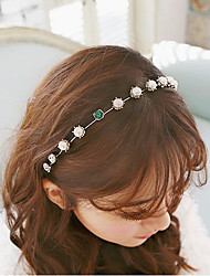 cheap -the new hot han guofa new imitation pearl collar female stars head hoop dish hair 1 pcs