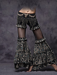 cheap -Belly Dance Bottoms Women's Performance Viscose Ruched / Draping / Pattern / Print Dropped Pants