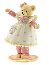 Недорогие -абс розовый творческий романтическая музыкальная шкатулка для подарка