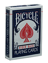 cheap -American Bicycle Poker Bicycle Poker Original Poker Magic Props Board Game Card Blue (A)