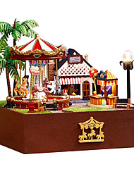 cheap -Diy House Chinese Valentine'S Day Premium Manual Trojan Joy Garden House A Birthday Present
