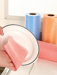 cheap -Multicolor Non-woven Fabrics Disposable Clean Cloth 50 Pieces per Reel