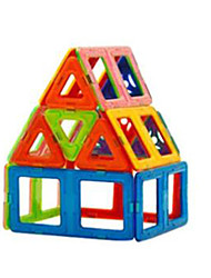 cheap -Changed Tyra Magnetic Blocks, Children's Educational Toys, 3 to 7 Years Old(18 Magnetic Pills,15 Pieces of Card)