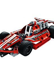 cheap -Building Blocks Military Blocks Construction Set Toys Race Car Soldier compatible Legoing Creative DIY Boys' Girls' Toy Gift / Educational Toy