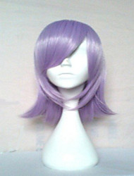cheap -top quality light purple synthetic wig long straight hair wigs suit for party and cosplay Halloween