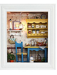 cheap -Diy Hut Chi Fun House A Leisurely Lunch Frame Creative Valentines Day Gift Hand House