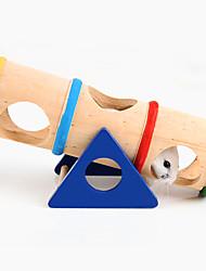 Недорогие -Шиншиллы Мышь хомяк Игрушки Колеса для тренировки Многофункциональный Косплей Дерево