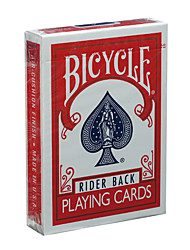 cheap -American Bicycle Poker Bicycle Poker Original Poker Magic Props Board Game Red Card (A)