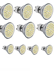 cheap -10pcs 3.5 W LED Spotlight 300-350 lm GU10 GU5.3(MR16) E26 / E27 MR16 60SMD LED Beads SMD 2835 Decorative Warm White Cold White 220-240 V 12 V 110-130 V / 10 pcs / RoHS
