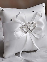 cheap -Crystal / Ribbons Satin Ring Pillow Beach Theme / Garden Theme / Asian Theme Spring / Summer / Fall