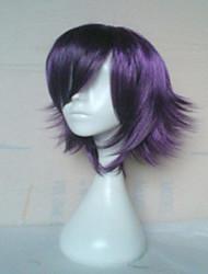 Недорогие -Парики из искусственных волос Прямой Прямой силуэт Парик Короткие Лиловый Искусственные волосы Жен. Фиолетовый hairjoy