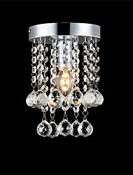 cheap -CXYlight Flush Mount Ambient Light Electroplated Metal Crystal, Mini Style, LED 110-120V / 220-240V Bulb Not Included / E12 / E14