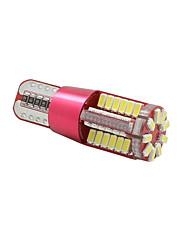 Недорогие -SO.K 10 шт. T10 Автомобиль Лампы 3 W SMD 3014 300 lm 57 Внутреннее освещение