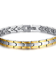 cheap -Chain Bracelet Cross Personalized Fashion Stainless Steel Bracelet Jewelry Silver For Christmas Gifts Daily Casual