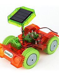 cheap -Toy Car Solar Powered Toy Display Model Solar Powered DIY Plastic ABS Toy Gift 1 pcs
