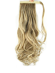 cheap -Clip In Ponytails Wrap Around Synthetic Hair Hair Piece Hair Extension Curly Wavy