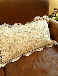 cheap -Shabby Chic Hand Made Embroidery Home Decor Cushion Cotton Pillow Sofa Wedding Decorative Throw Pillow