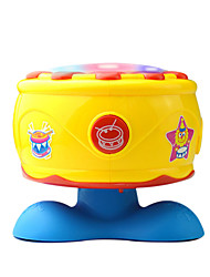 cheap -Yellow Child Hand Drums for Children All Musical Instruments Toy