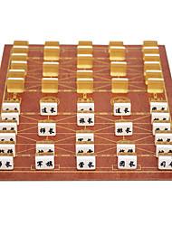 abordables -marines se déplacent de grandes combinaisons d'échecs d'échecs militaires marines planche en bois 3.4 or + acrylique échiquier