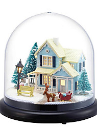 cheap -CUTE ROOM Music Box Dollhouse Cartoon Furniture House DIY Unique Wooden Crystal Glass Plastic Women's Girls' Kid's Adults Graduation Gifts Toy Gift