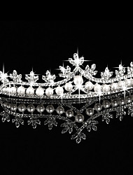 cheap -Imitation Pearl / Rhinestone / Alloy Tiaras / Headwear with Floral 1pc Wedding / Special Occasion / Outdoor Headpiece