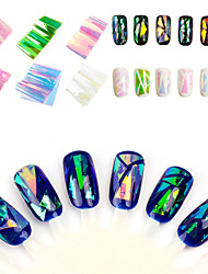 cheap -japan-and-south-korea-manicure-symphony-of-irregular-broken-glass-mirror-nail-sticker-paper-platinum-aurora-glazed-paper